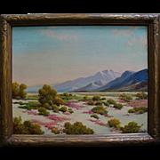 """George S. Bickerstaff   """"Spring in the Desert"""""""