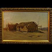 N. V. Cole   Indian Dwelling