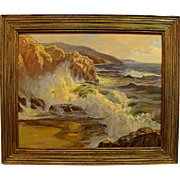 "Joseph Lindahl  ""Crashing California Surf"""