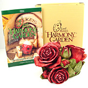 Harmony Kingdom Double Red Rose Box Figurine