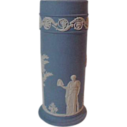 Wedgwood Tall Cylinder   spill Vase Woman Women    Trees