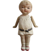 SOLD Nippon Bisque Doll Vintage 1920s Miniature