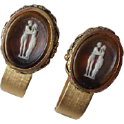 Dante Cufflinks The Kiss Cameo Incolay Masterpiece Collection Mens Jewelry