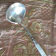 Vintage Mother of Pearl Ladle