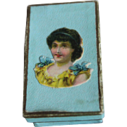 SALE PENDING Adorable Antique French Miniature Box