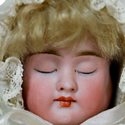 """SALE PENDING Adorable 12"""" Three Face Doll by Bergner"""