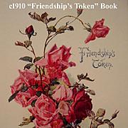 SOLD C1900 Friendship's Token Victorian Gift Book Catherine Klein