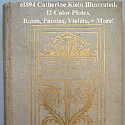 c1894 Catherine Klein Illustrated The Year Book of American Authors Ida Scott Taylor Language