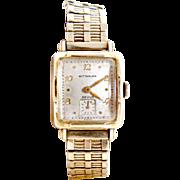 Vintage Wittnauer watch Mens Revue gold filled