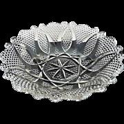 Westmoreland glass bowl High Hob 550 c. 1912 EAPG