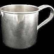 Vintage silver baby cup Oneida Harmony c. 1938