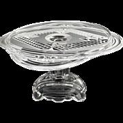 Rare Adams glass cake stand NR120 c. 1884