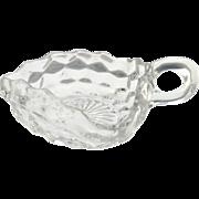Fostoria glass nappy dish American pattern