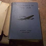 SALE Advance In The Air H.C. Book Monk and Winter
