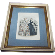 Vintage Collectible Ladies Of Fashion Print Fleck Bros. New York