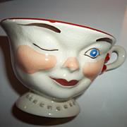 Female Promotional Lipton Tea Winking Cup