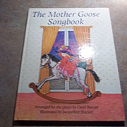 The Mother Goose Songbook Arranged for the Piano Children's Book