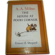 The  House At Pooh Corner A.A. Milne Children's Book