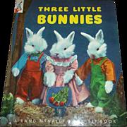 SALE Three Little Bunnies Children's Book Copyright MCML Dale Rooks