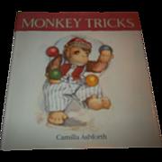 A Charming Children's Book Monkey Tricks Camilla Ashforth