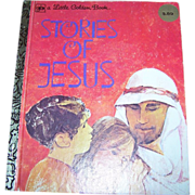 A Vintage Children's Book Stories Of Jesus C. 1980