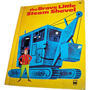 The Brave Little Steam Shovel Wonder Book C. 1975