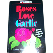 Paper Back Book Roses Love Garlic