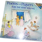 Poems and Prayers For The Very Young Booklet Book