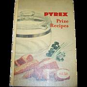 SALE Collectible Book PYREX Prize Recipes C. 1953 Cookbook