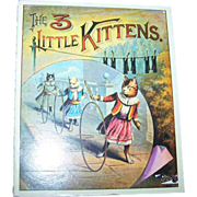 Little Booklet Soft Bound Book The 3 Little Kittens