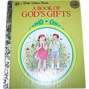 A Book of God's Gifts by Ruth Hannon C. 1979