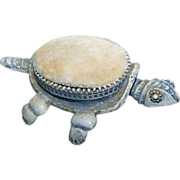Figural Nodder Bobbing Head Turtle Pin Cushion Designed by FLORENZA