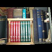 SALE Mid Century Modern Gail Craft Book Case  Coaster Set