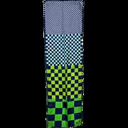 Glentex Rectangular Scarf Signed Schiaparelli Geometric Print