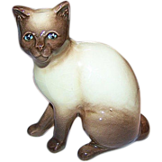 SALE SylvaC Siamese Pussy Cat Figurine 99 Siamese Chocolate Point