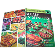Better  Homes & Gardens Meals in Minutes Cook Book Cookbook