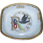 Small Daughters of Rebekah  Symbolic Pin Tray by Royal Stafford