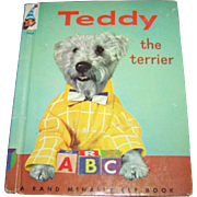 SALE Children's Book Teddy The Terrier A Real Live Animal Book Rand McNally