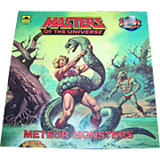 "Soft Cover Book Booklet "" Masters of the Universe "" Meteor Monsters by Jack C. Harri"