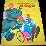 Larry Harman's T.V. Bozo and the Hide N Seek Elephant Hard Cover Book