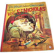 "SOLD Soft Cover Book "" The Night Before Christmas or a Visit of St. Nicholas "" Paper"