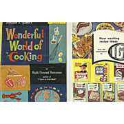 Lot of 7 Vintage Cook Book Booklets Wonderful Pictures Great Recipes