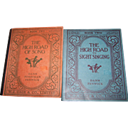 "Two Music Books "" Book Two The High Road Of Song  ""  and "" The High Road To Sig"