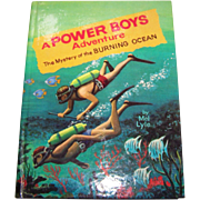 "Children's Book "" A Power Boys Adventure The Mystery of the Burning Ocean "" By Mel L"