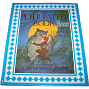 """Over Size Children's Book """" The Peter Patter Book of Nursery Rhymes """"  by Leroy F .."""