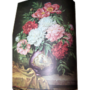 "Beautiful Vintage Book "" Friendship "" an ideals publication Floral Prints Pretty Eno"