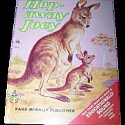 "Straight Right Elf Book rand McNally "" Hop Away Joey ""  Kangaroo"