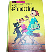 Children's Flip Book 2 Books in One Pinocchio and King Arthur And His Knights