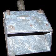 Vintage Primitive Metal Wood Scoop Scraper Shovel Great for Display