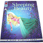 """Charming Hard Cover Vintage Children's Book """" Sleeping """" Beauty """"  Rand McNally"""